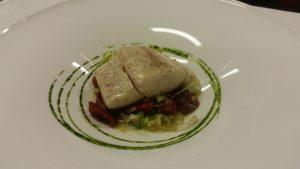 ombrina con scarola pomodorini ed olive softcooker wi food