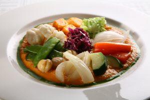 Softcooker Wi-food, Sous Vide cooking, ricetta: Gagettino, foie gras, zucca gialla e castagne alla vaniglia Autore:Vittorio Tarantola